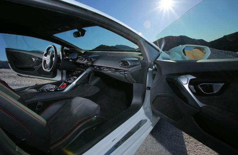 2018 Lamborghini Huracan Coupe Interior Cabin