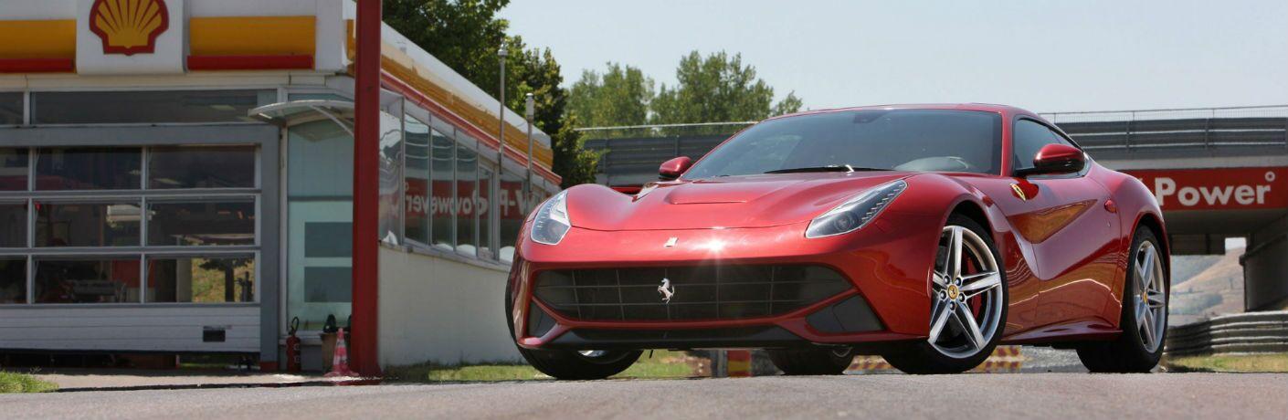 2014 Ferrari F12berlinetta Exterior Driver Side Front Angle