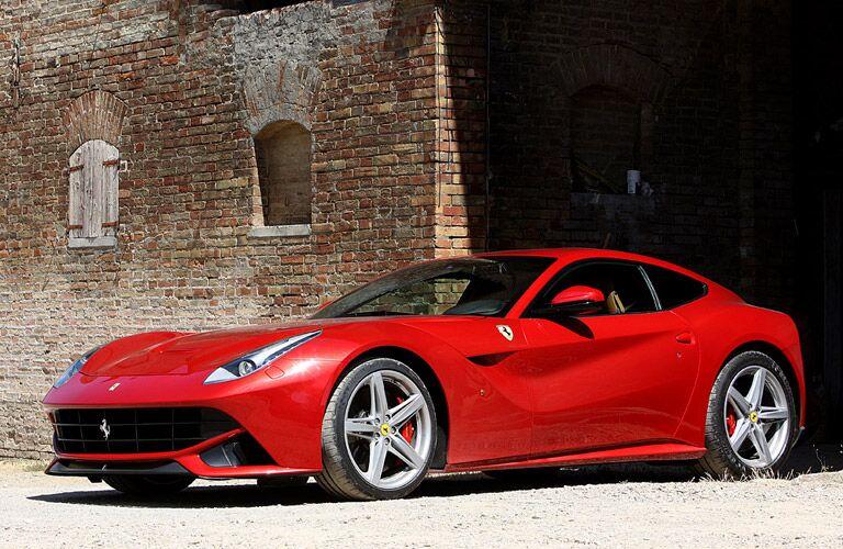 2014 Ferrari F12berlinetta Exterior Driver Side Front Profile