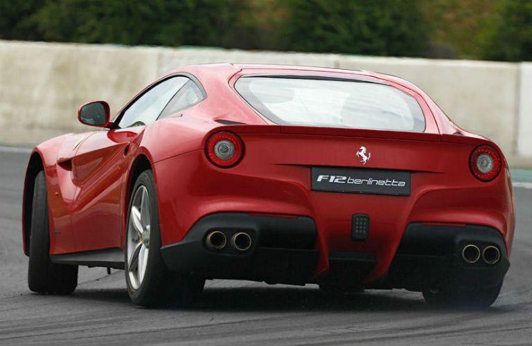 2014 Ferrari F12berlinetta Exterior Driver Side Rear Angle