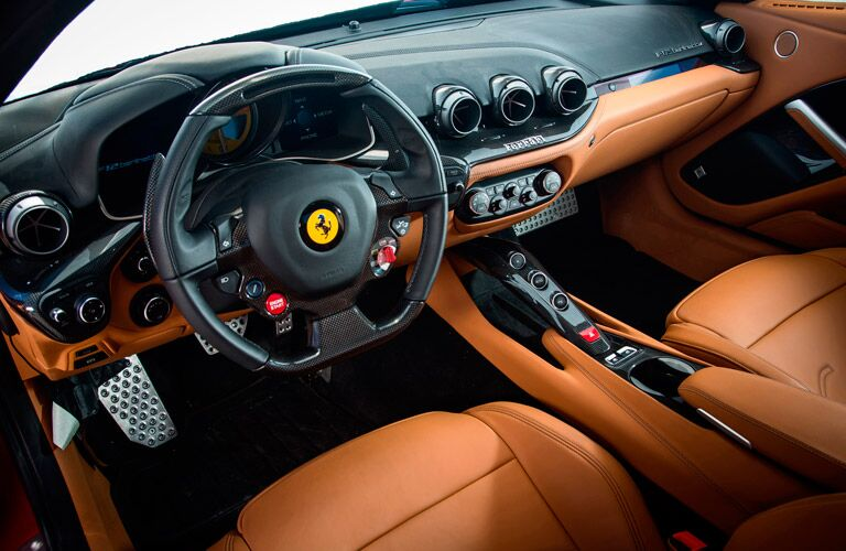 2014 Ferrari F12berlinetta Interior Cabin Dashboard