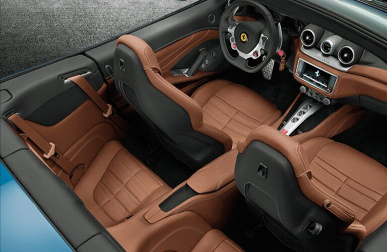 2016 Ferrari California T Interior Cabin