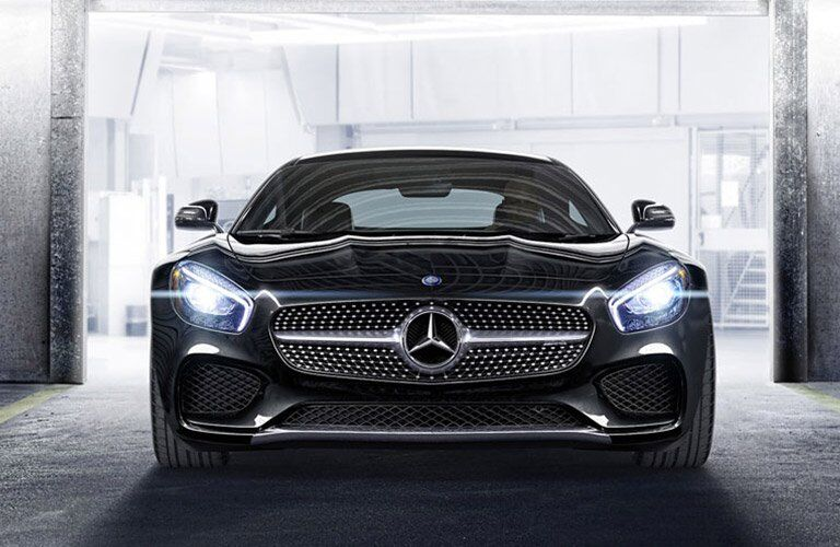 2016 Mercedes-AMG GT S Front Exterior with LED headlights