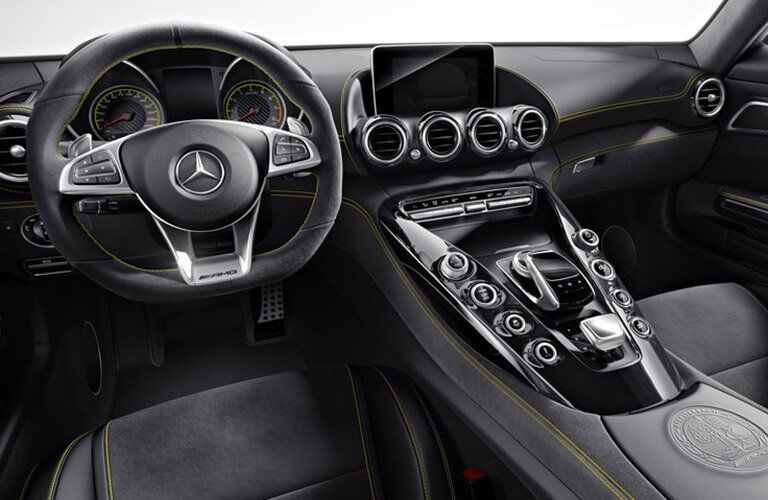 2016 Mercedes-AMG GT S Front Cabin