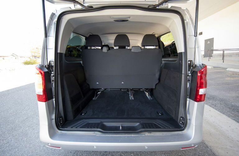 2016 Mercedes-Benz Metris Passenger Van Interior Cabin Seating & Cargo Area