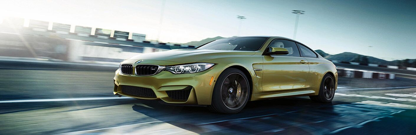 2017 BMW M4 Exterior Driver Side Front Profile