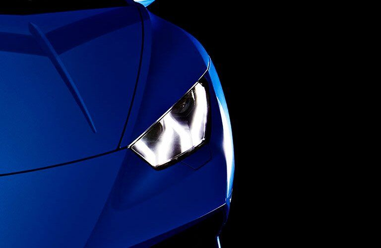 2017 Lamborghini Huracan 580-2 Spyder Blue Exterior Headlight