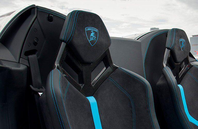 2017 Lamborghini Huracan 580-2 Spyder Passenger Seat Blue Interior