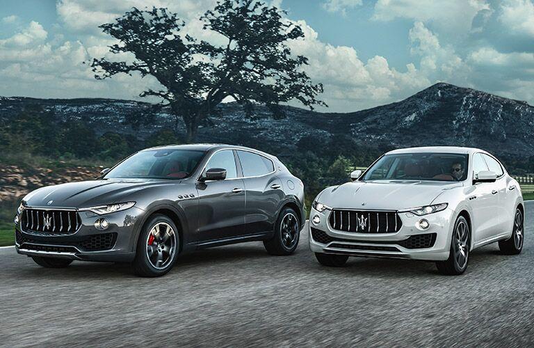 2017 Maserati Levante Exterior Driver Side Front Profiles