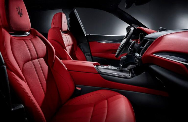 2017 Maserati Levante Interior Cabin Front Seating
