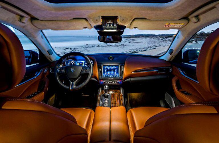 2017 Maserati Levante Interior Cabin Dashboard