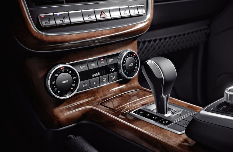shifter in the mercedes-benz G-Class