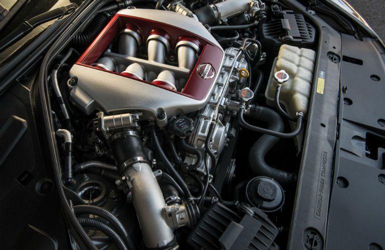 2017 Nissan GT-R Interior Engine Bay