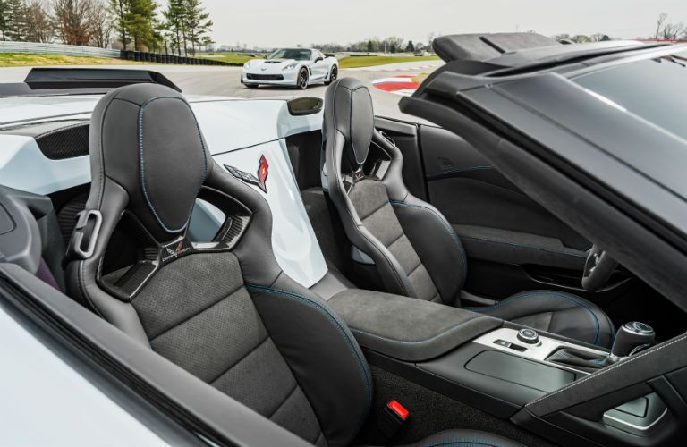 2018 Chevy Corvette Grand Sport Interior Cabin Seating