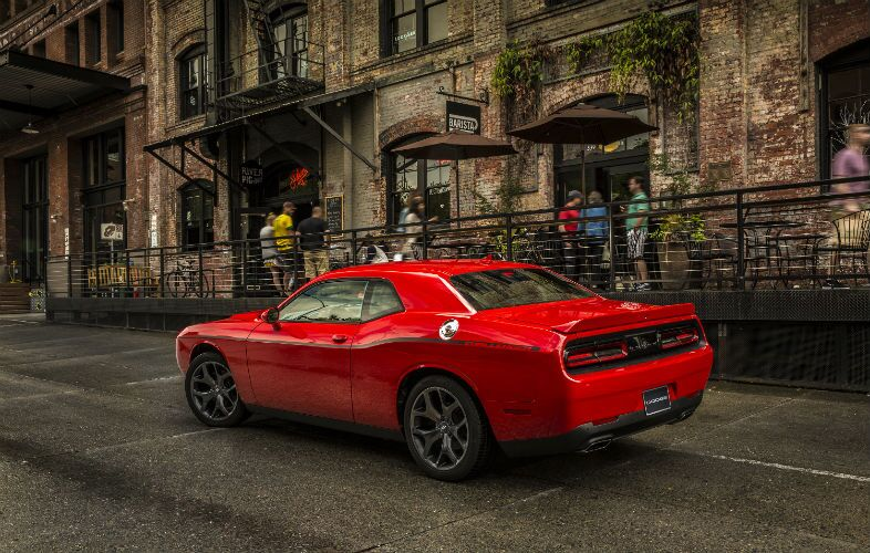 2018 Dodge Challenger Exterior Driver Side Rear Profile