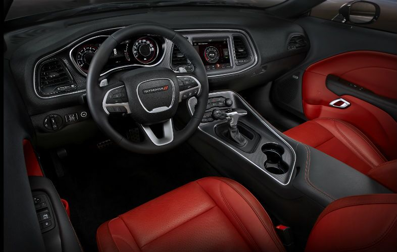 2018 Dodge Challenger Interior Cabin Dashboard