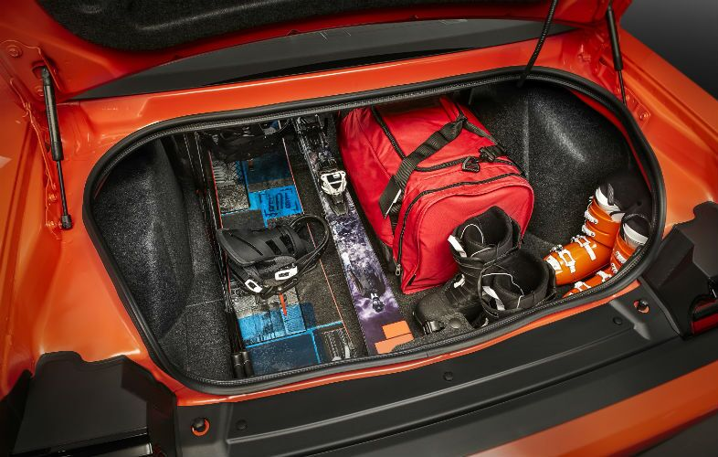 2018 Dodge Challenger Interior Trunk Space