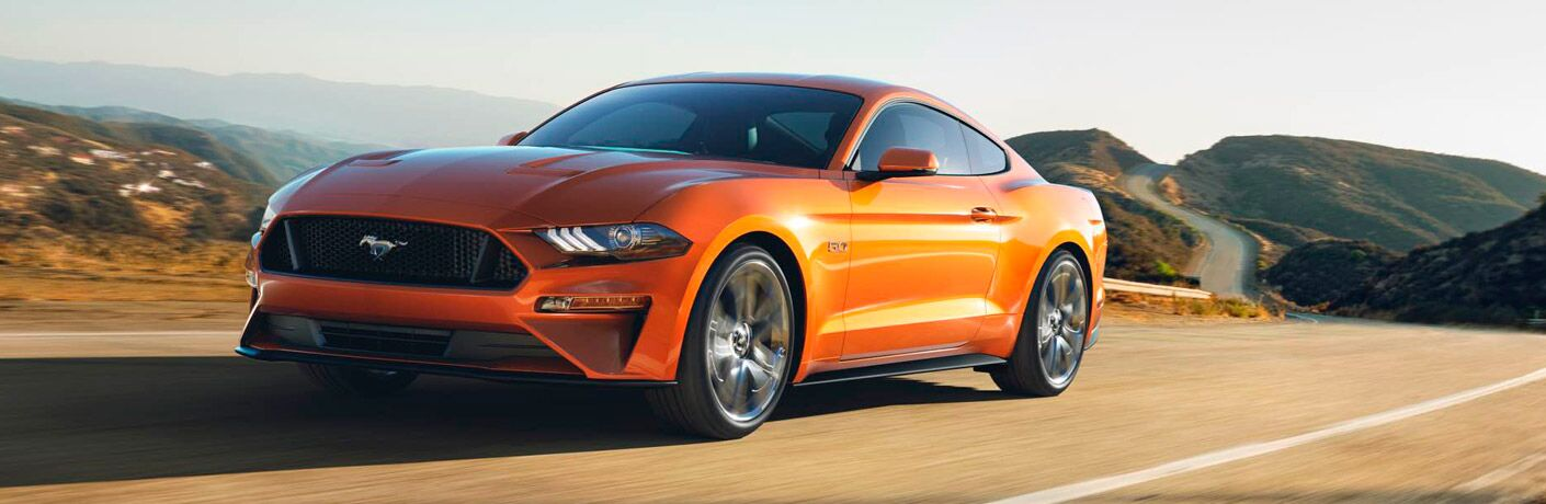2018 Ford Mustang Exterior Driver Side Front Profile