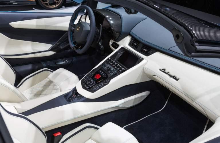 2018 Lamborghini Aventador S Roadster Interior Cabin Front Seats