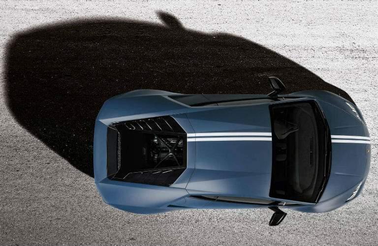 2017 Lamborghini Huracan Avio Special Edition Exterior Aerial View