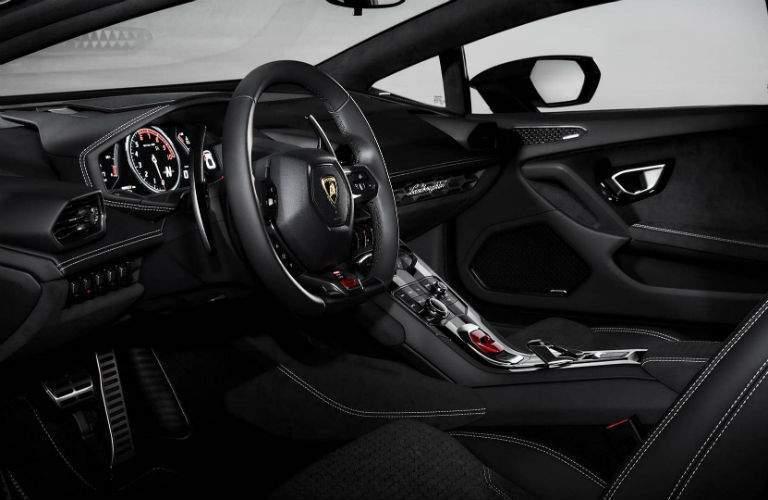2017 Lamborghini Huracan Avio Special Edition Interior Cabin Dashboard