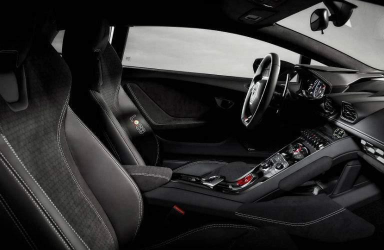 2017 Lamborghini Huracan Avio Special Edition Interior Cabin Front Seat