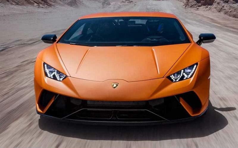 2018 Lamborghini Huracan Performante Exterior Front Fascia