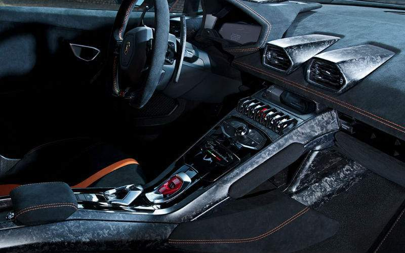 2018 Lamborghini Huracan Performante Interior Cabin Dashboard