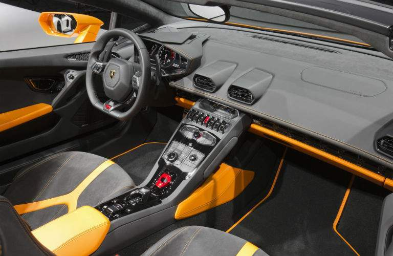 2018 Lamborghini Huracan Spyder Interior Cabin Front Seat