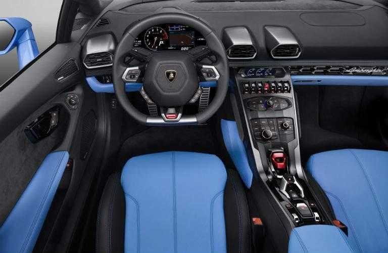 2018 Lamborghini Huracan Spyder Interior Cabin Dashboard