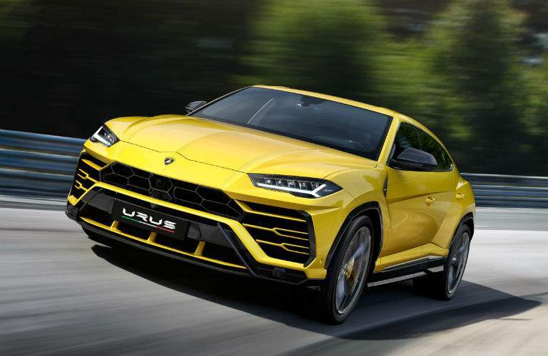 2018 Lamborghini Urus SSUV Exterior Driver Side Front