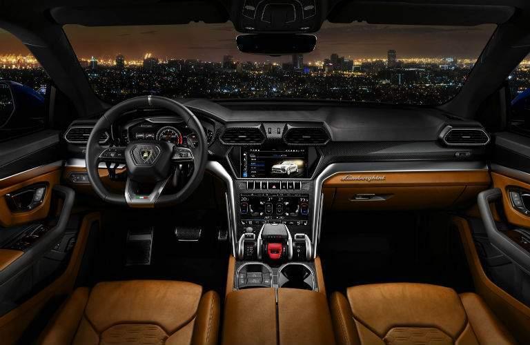 2018 Lamborghini Urus SSUV Interior Cabin Dashboard