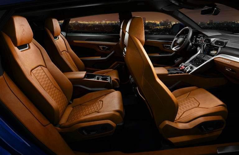 2018 Lamborghini Urus SSUV Interior Cabin Seating