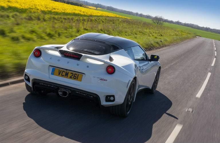 2018 Lotus Evora 400 Exterior Rear Fascia