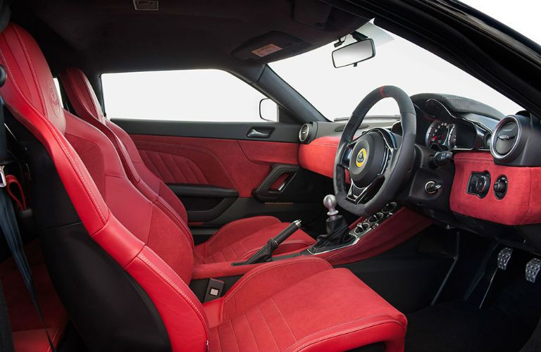 2018 Lotus Evora 400 Interior Cabin Dashboard and Front Seat
