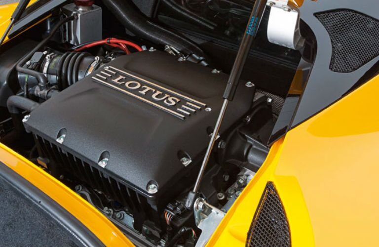 2018 Lotus Evora 400 Interior Engine Bay
