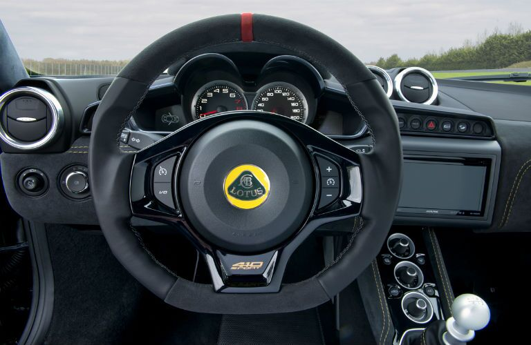 2018 Lotus Evora Sport 410 Interior Cabin Steering Wheel