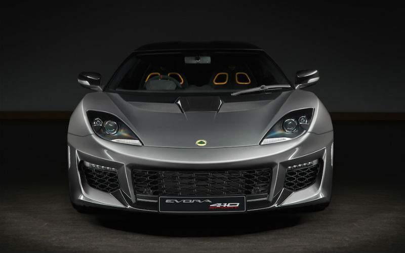 2018 Lotus Evora Sport 410 Exterior Front Fascia