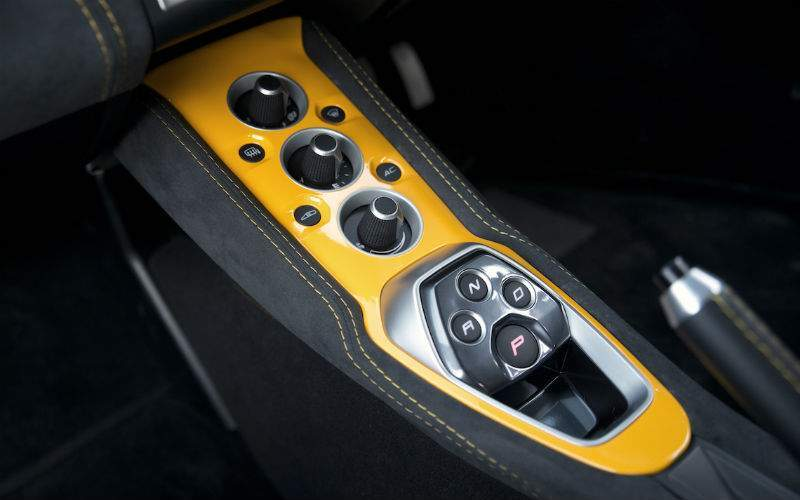 2018 Lotus Evora Sport 410 Interior Center Console
