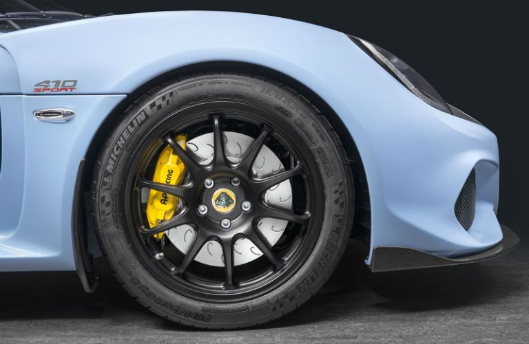 2018 Lotus Exige Sport 410 Exterior Passenger Side Wheel