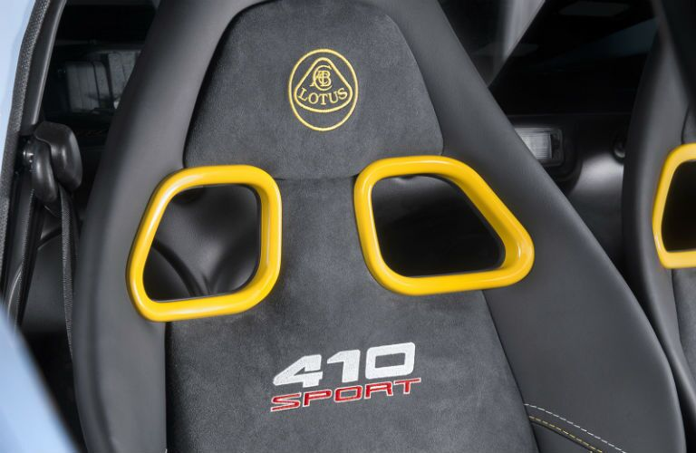 2018 Lotus Exige Sport 410 Interior Cabin Seatbacks