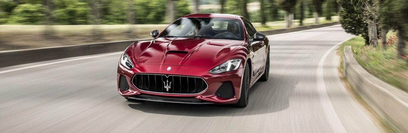 2018 Maserati GranTurismo Exterior Driver Side Front Angle