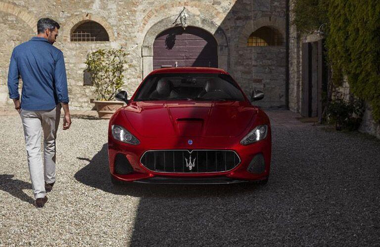 2018 Maserati GranTurismo Exterior Front Fascia