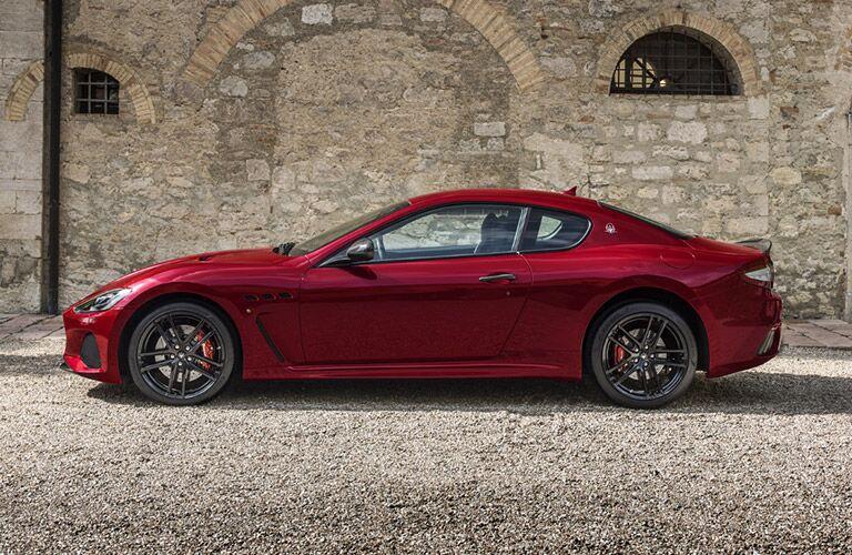 2018 Maserati GranTurismo Exterior Driver Side Profile