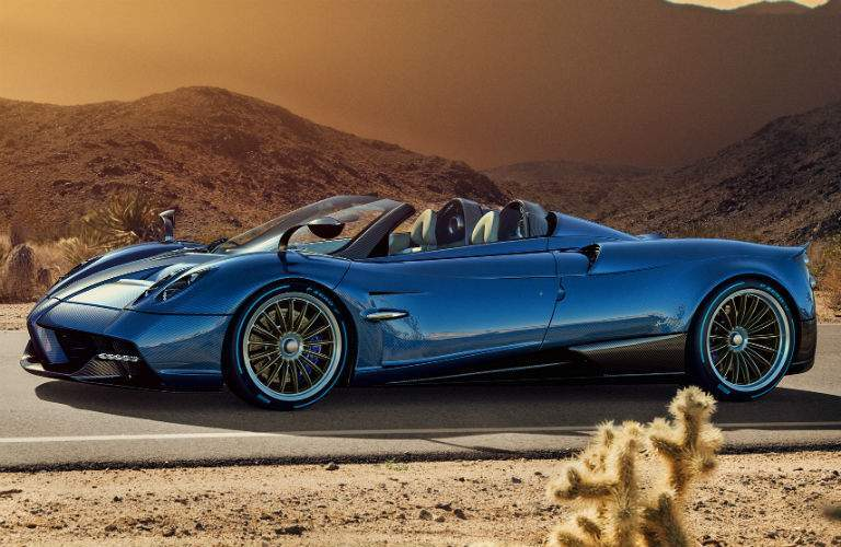 2018 Pagani Huayra Roadster Exterior Driver Side Front