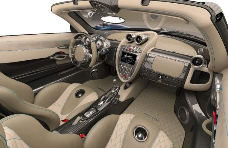 2018 Pagani Huayra Roadster Interior Cabin Dashboard
