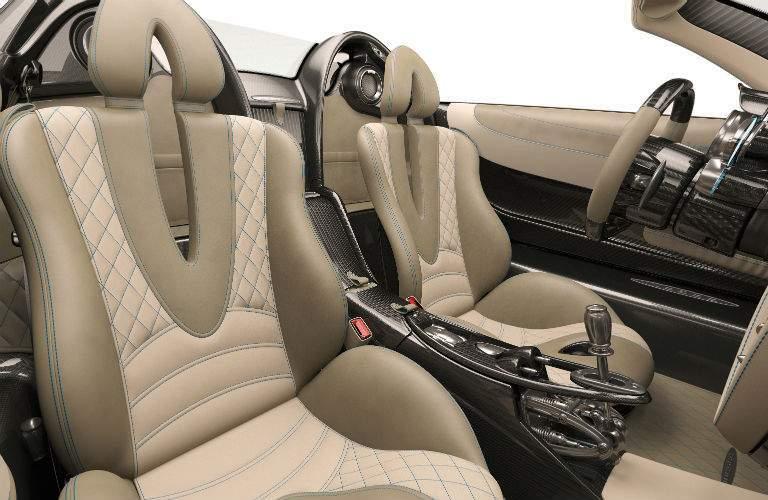 2018 Pagani Huayra Roadster Interior Cabin Seating