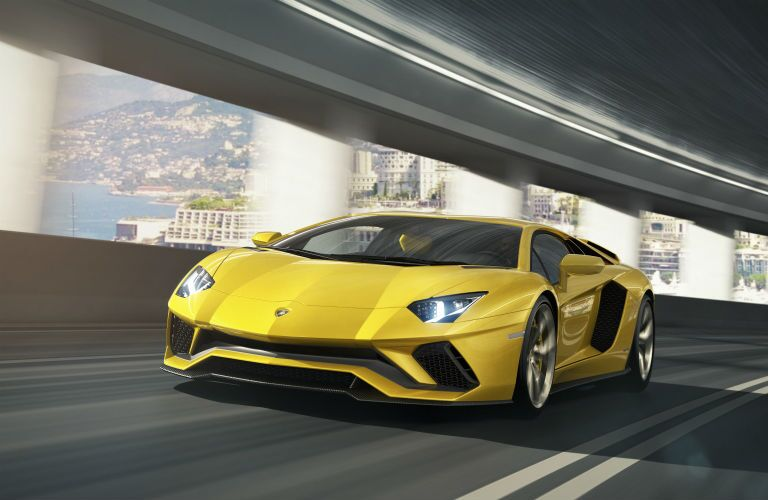 2018 Lamborghini Aventador Exterior Driver Side Front