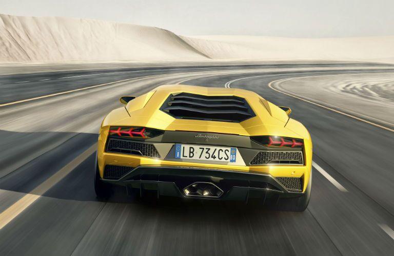 2018 Lamborghini Aventador S Exterior Rear Fascia
