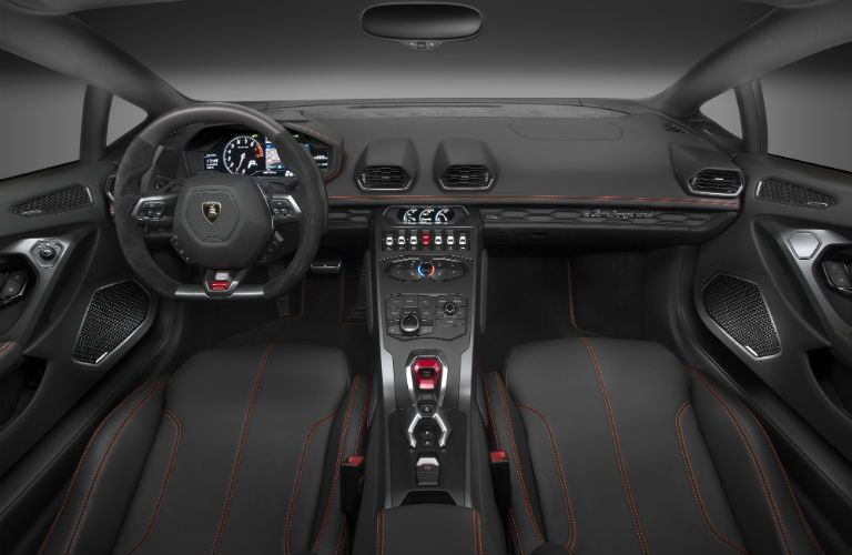 2018 Lamborghini Huracan Interior Cabin Dashboard and Front Seat